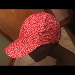 NEW Cute Pink Leopard Cap Fits to your head